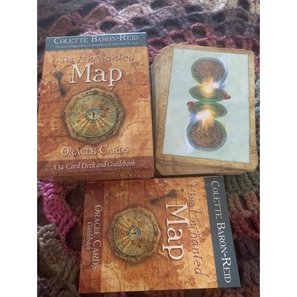 二手正版神諭卡 魔法地圖 the enchanted map 神諭卡