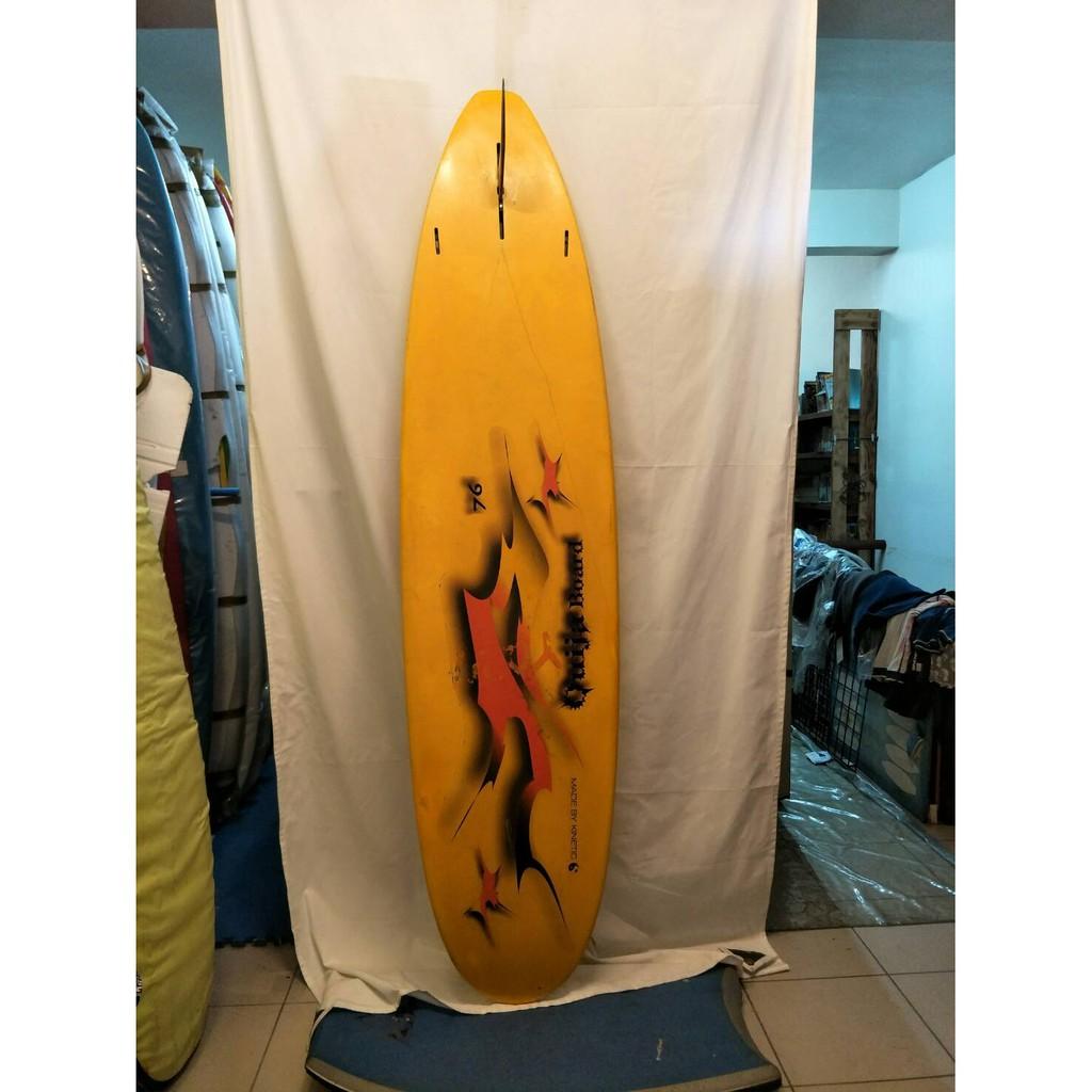 7尺6 的 衝浪板 中古板 二手 delta design