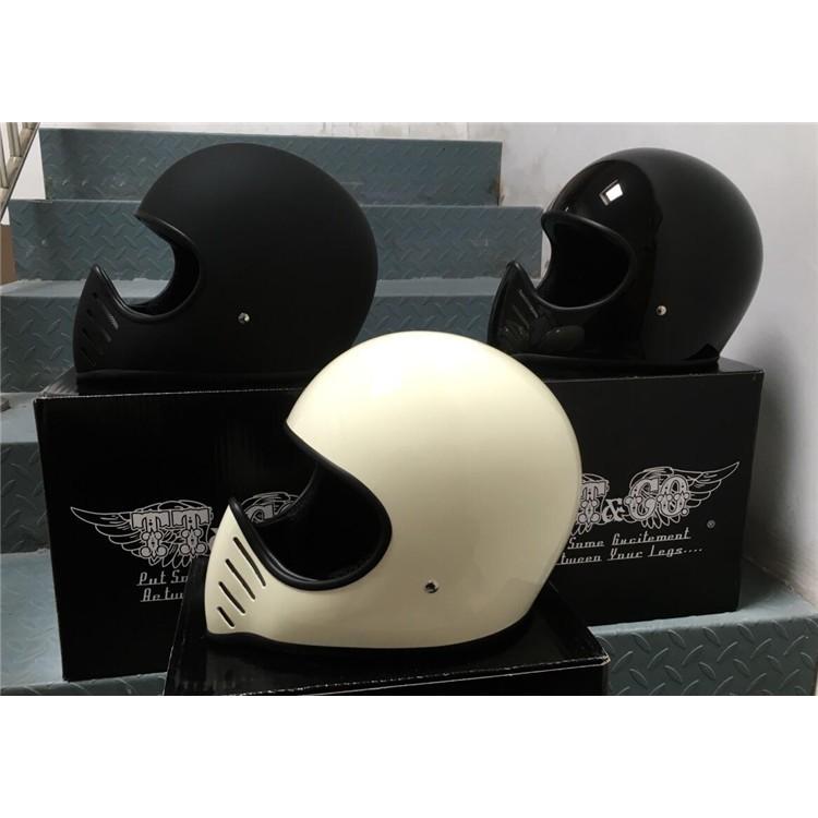 復古全罩安全帽 個性越野風格 機車安全 騎帥不騎快 摩托車頭盔MOTO MT Z1全盔巡航
