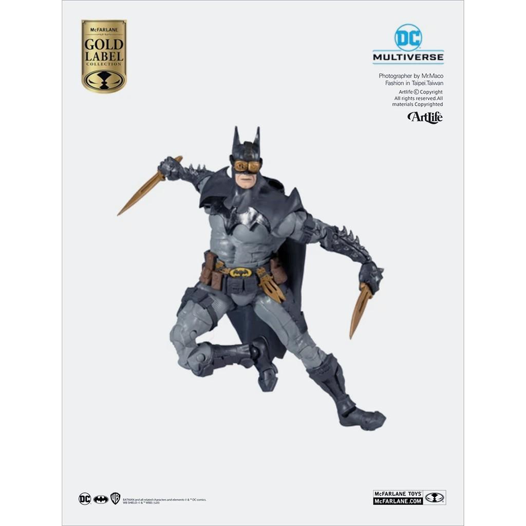 ArtLife @ McFarlane DC MULTIVERSE BATMAN 麥法蘭 金標 黑暗騎士 蝙蝠俠