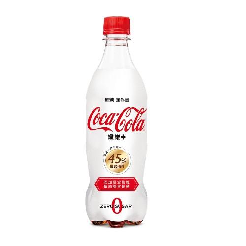 可口可樂纖維+ 600ml PETx24 【大潤發】