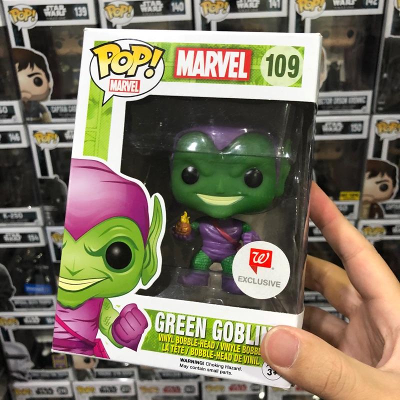 [李大] 正版現貨 絕版 Funko POP 漫威 綠惡魔 Walgreens 限定 Green Goblin #109
