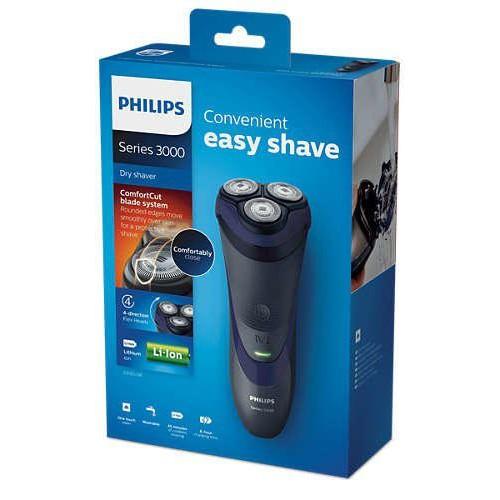 (全新現貨出清) - 飛利浦 荷蘭製 可水洗 三刀頭水洗電動刮鬍刀 S3120 另售 S5620 S9161 S5340