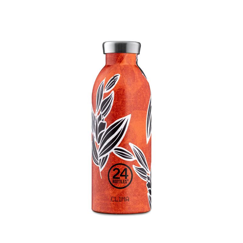【24Bottles 城市水瓶】不鏽鋼雙層保溫瓶 500ml/ 蠟染