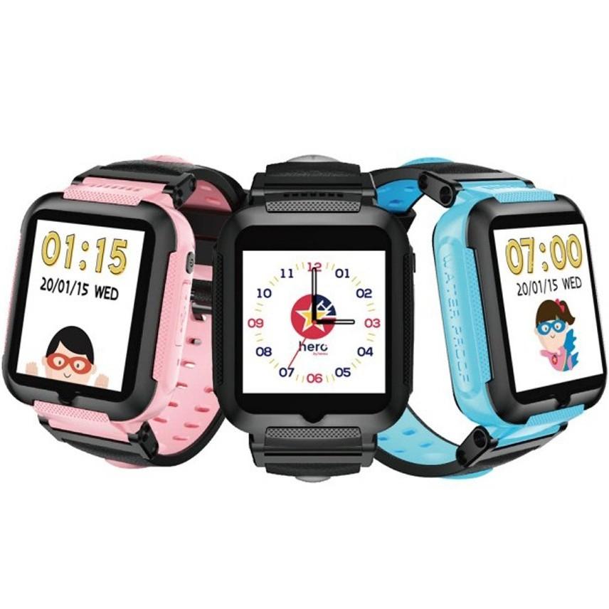 hereu【HeroWatch】4G 兒童智慧手錶 超取免運 定位遠端藍芽視訊防水防塵 兒童首選【藍宇3C】