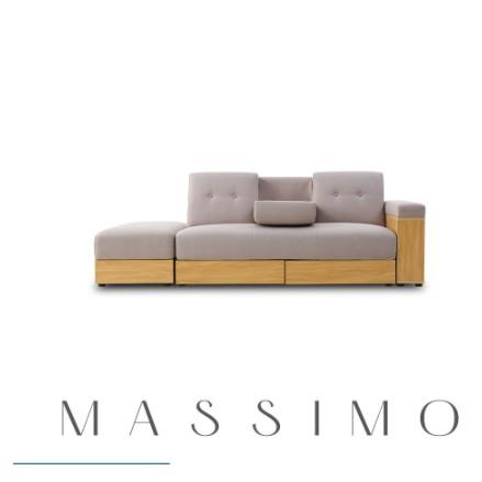 麥西蒙日式多功能收納沙發床-