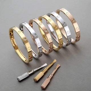 【高版本】CARTIER/ 卡地亞 LOVE 手鐲 寬體款 鋪鑲鑽石 18K白色黃金 鑽石 滿天星鑽石款 白金手鐲 現貨