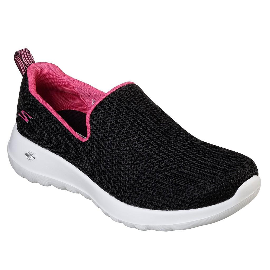 SKECHERS GOwalk Joy - Centerpiece 女 黑粉休閒鞋15637BKHP [Q1現貨]