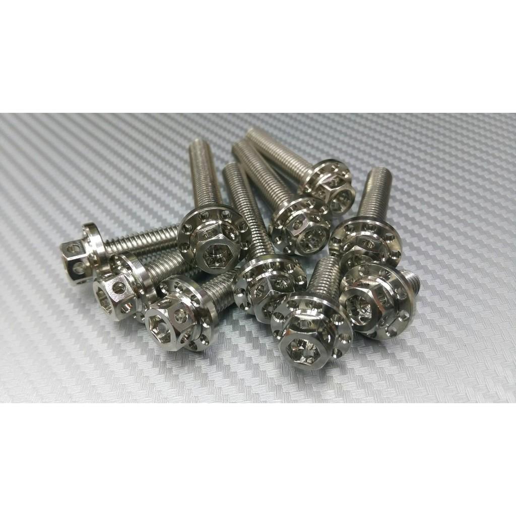 【晶站】白鐵造型內外六角 M8大頭螺絲 規格:M8 長度:15、20、25、30、35、40、45、50、55、60