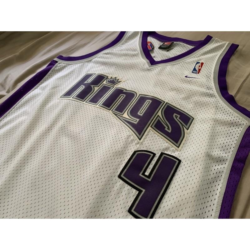 Chris Webber NBA沙加緬度國王主場Nike Swingman L+2