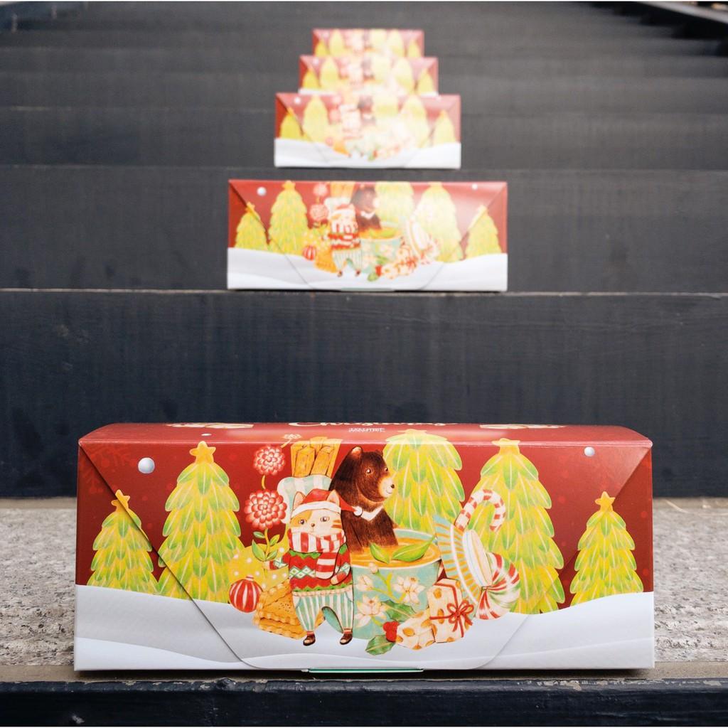 【聖誕限定】無藏開花茶耶誕禮盒_(3種組合)交換禮物_(附提袋)