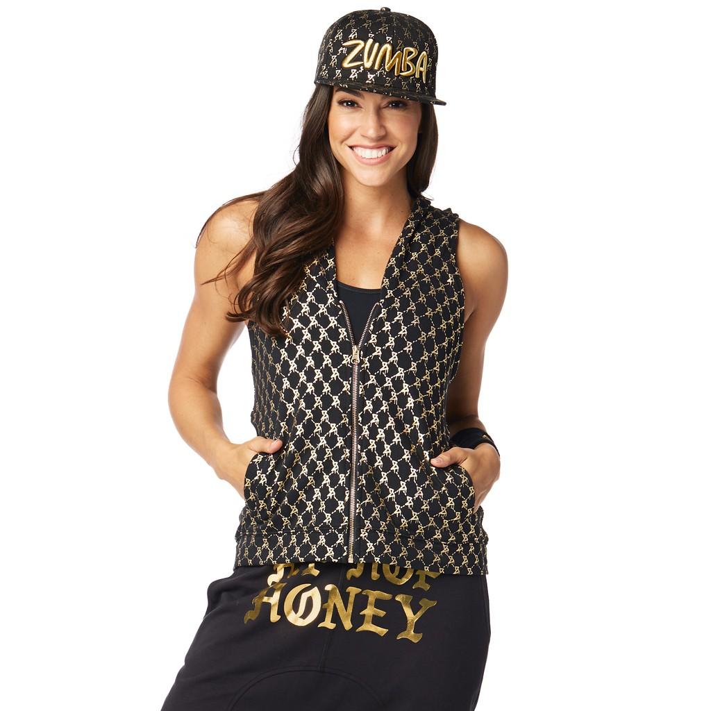 【ZUMBA】女裝運動連帽外套 Hip Hop Honey Hoodie