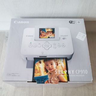 日本 原裝 正品 CANON SELPHY CP910 熱感式 相印機 相片 印表機 熱昇華 印相機 相片紙144張 桃園市