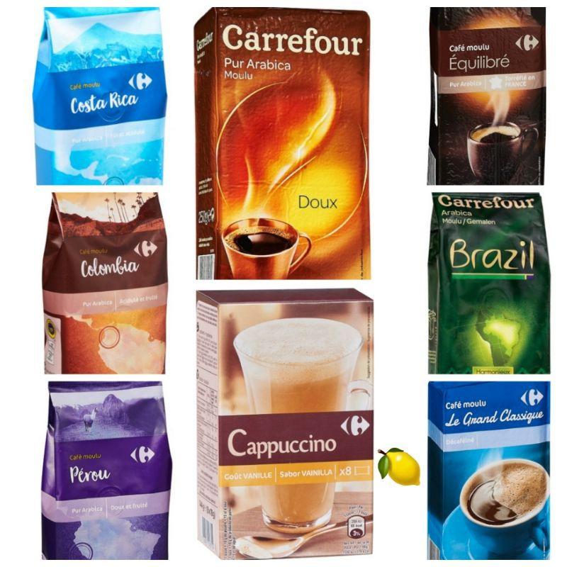 💯家樂福飲品~濾泡式咖啡(哥斯大黎加/哥倫比亞/秘魯/巴西/阿拉比卡/中烘焙/經典低咖啡因)💞即溶咖啡粉~卡布奇諾香草