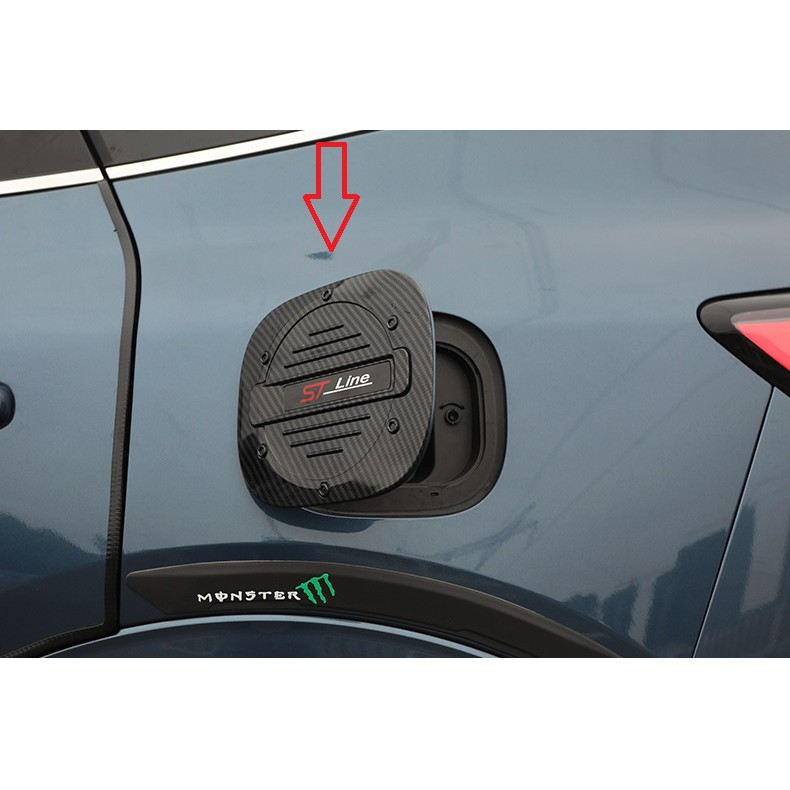 福特 2020 ~2021 KUGA MK3 油箱蓋 碳纖紋