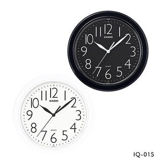 【山姆大叔工作坊】CASIO掛鐘 居家必備 經典大數字 大方流線圓形時鐘25*25公分(10吋) IQ-01S 桃園市