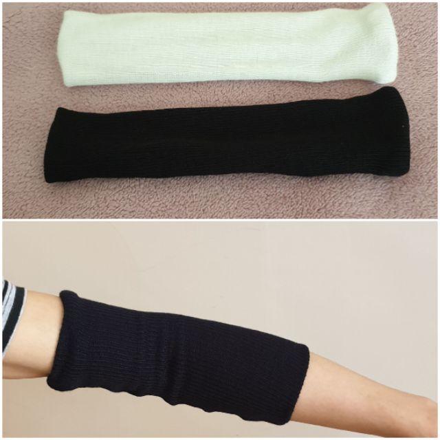 妮芙露萬用方巾白色護肘,護踝,護腕AS001(一雙),風采圍巾護肘黑色