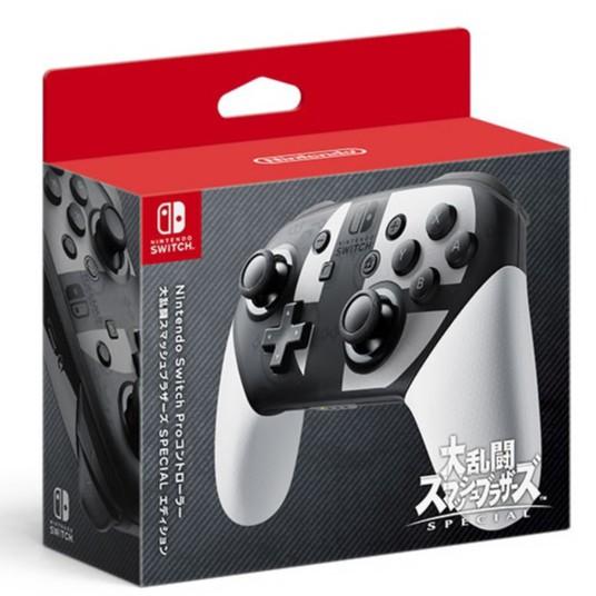 【現貨供應】Nintendo Switch Pro 任天堂明星大亂鬥 特仕款控制器 手把控制器 台灣公司貨 勁多野