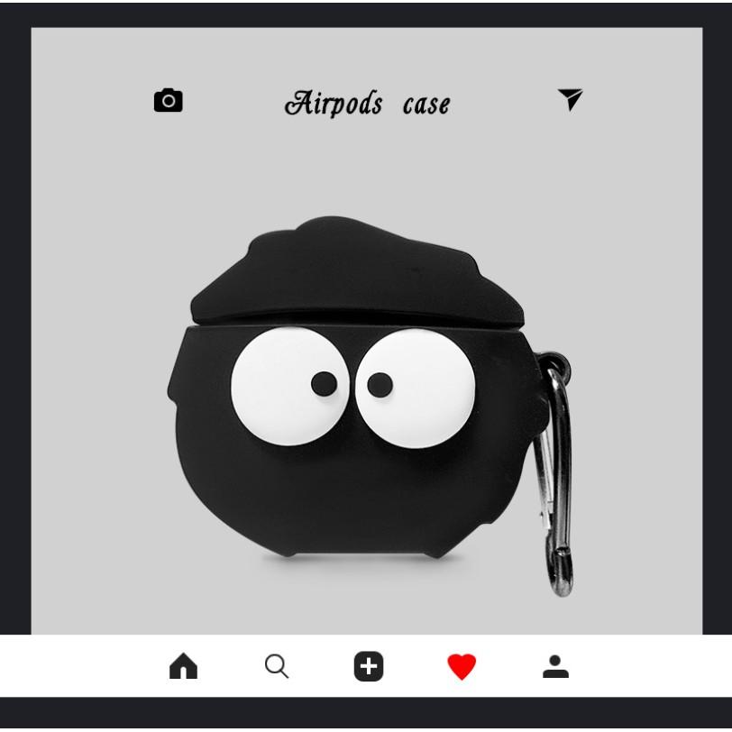 ⚡ 【AirPods1.2.3代 Pro 小黑炭】造型系列1:1設計 AirPods 專用 親膚設計 Airpods