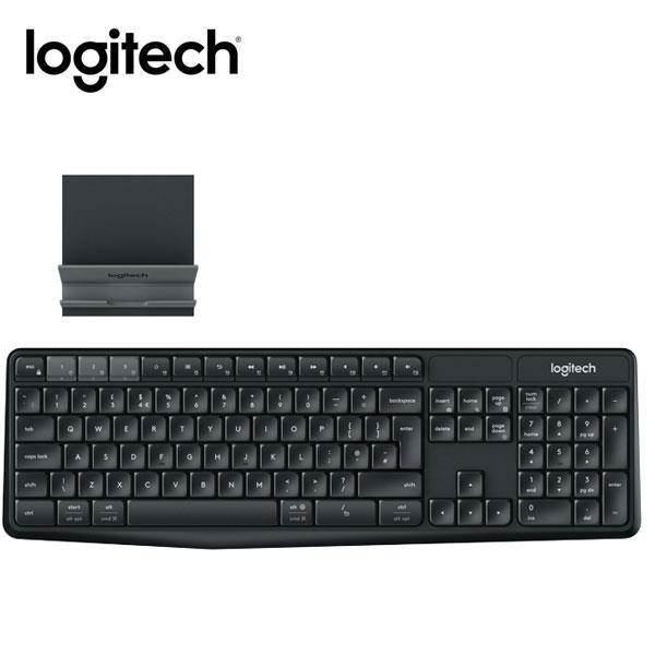 羅技 跨平台無線 藍牙鍵盤支架組合