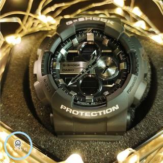 CASIO 卡西歐 G-SHOCK 運動手錶 情侶手錶 防水手錶 卡西歐手錶人氣鋼色手錶  GA-140GM-1A1 桃園市