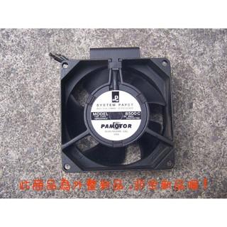 (風扇專賣)8公分110v 電容式 雙滾珠軸承扇 -長壽命高風量機種-外匯良品-- 整新品..