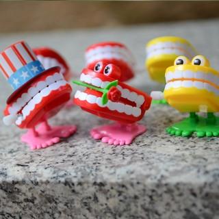 [叼XO]發條玩具批發上弦上鏈男孩女小寶寶兒童0-1歲3嬰兒益智牙齒組合
