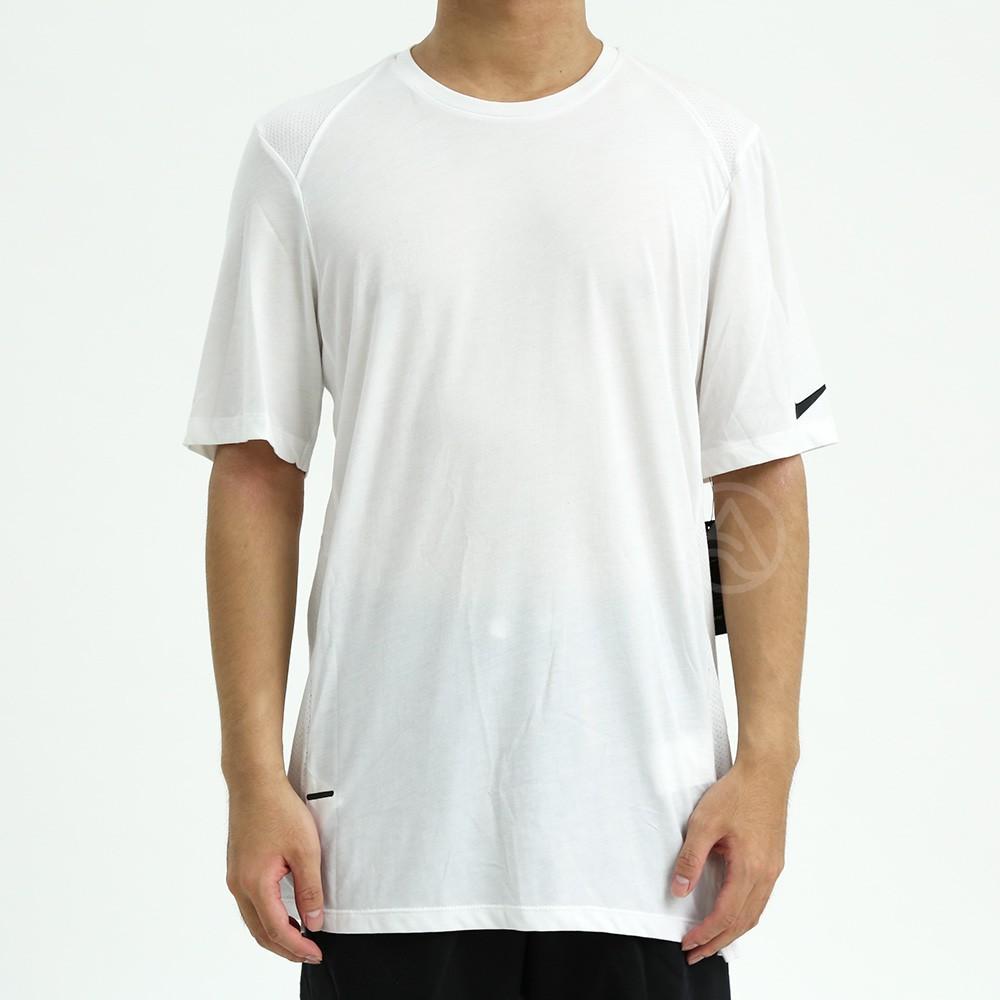 NIKE ELITE TEE 男裝 短袖 白色 上衣 籃球衣 運動 短袖T恤 830950-100