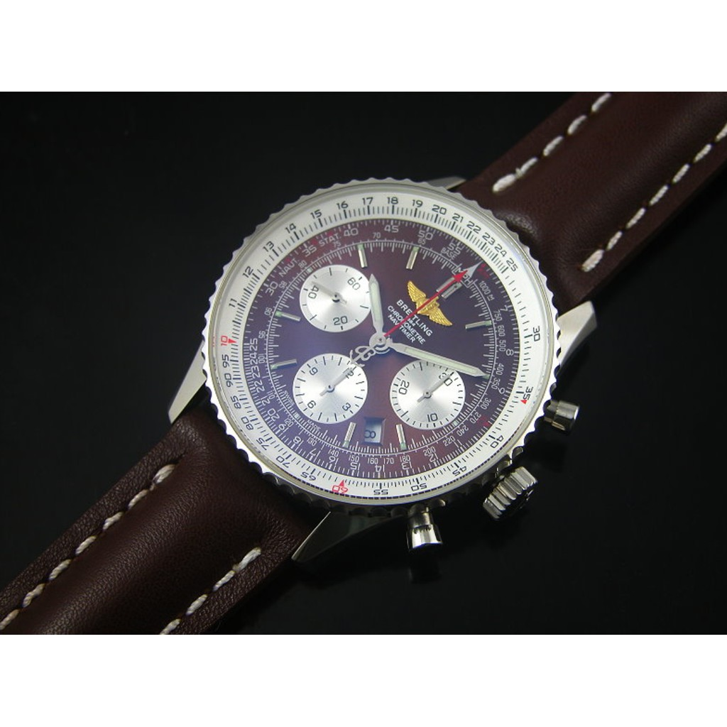 Breitling 百年靈 navitimer 01 航空計時01腕表 43MM