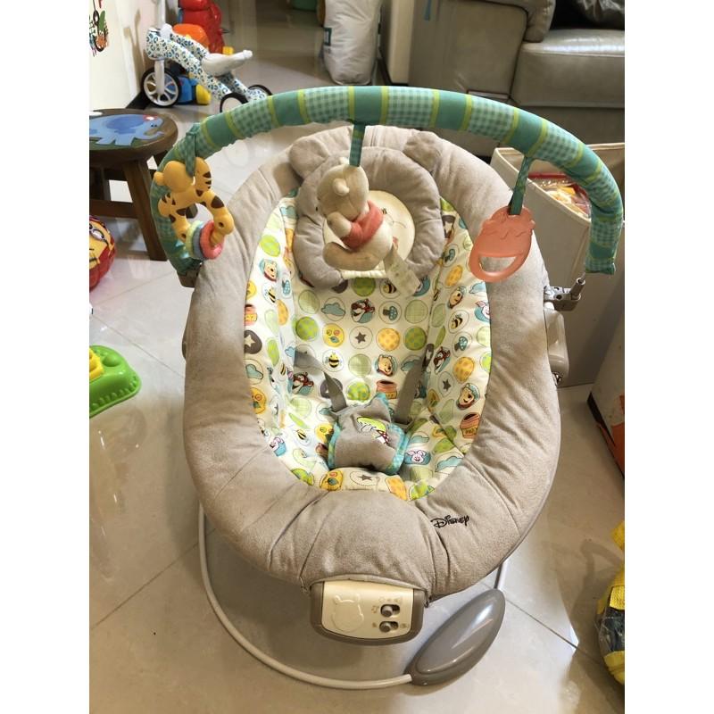 好市多 維尼嬰兒安撫椅 嬰兒躺椅