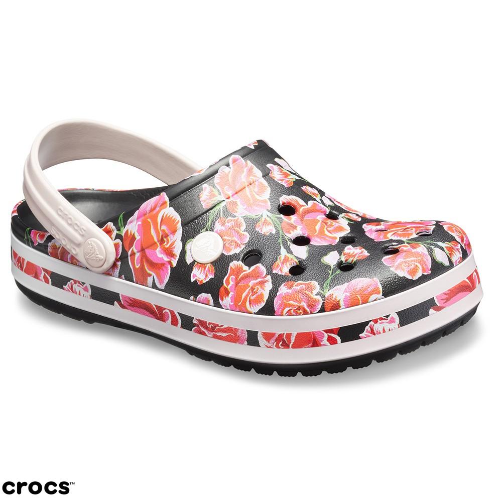 Crocs卡駱馳 (中性鞋) 卡駱班花紋克駱格 III-205330-97J