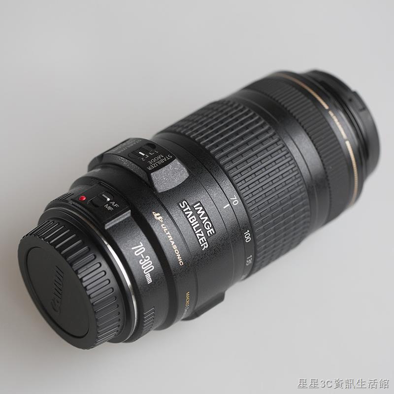 Canon佳能EF70-300mm f4-5.6 IS USM全畫幅防抖鏡頭小黑小白 二手現貨