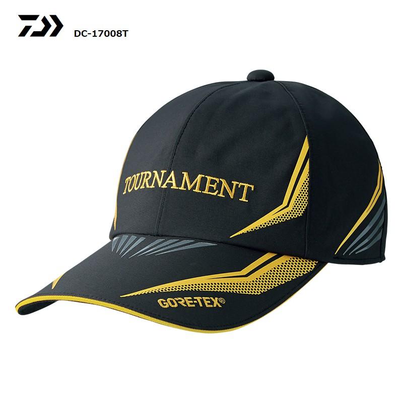 DAIWA 18年新款GORE-TEX 釣魚帽 DC-17008T 黑色