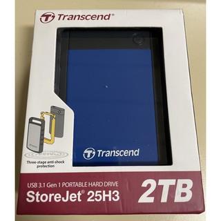 Transcend StoreJet 25H3 2TB 2.5吋外接式硬碟 高雄市