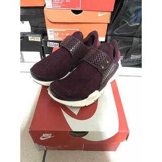 LastShoes® NIKE Lab Sock Dart SP 酒紅 暗紅 黑紅  襪套女段 848475-600 桃園市