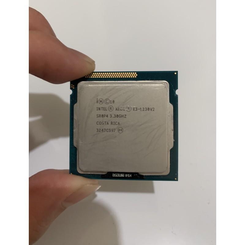 Intel Xeon E3-1230V2 3.3GHZ + Intel原廠銅底風扇