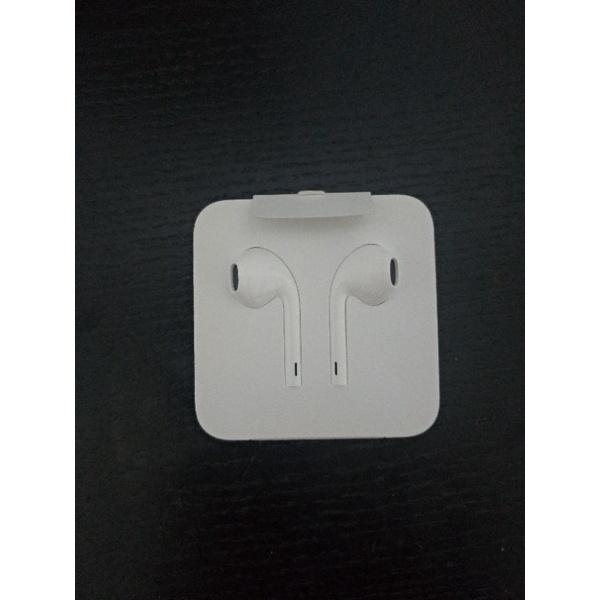 Apple蘋果原廠 earbuds lightning版耳機(iPhone X原裝盒內贈)
