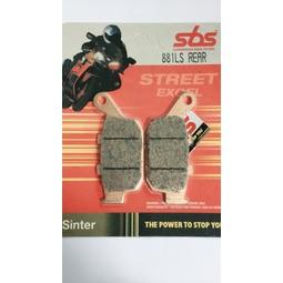 【極速傳說】SBS 煞車皮/來令片881LS(適用:HONDA CBR250R/CBR300R/CBR500R)