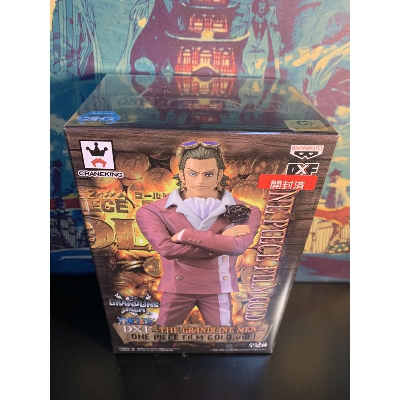 日版金證 已拆有盒 海賊王 航海王 泰佐羅 黃金城 THE GRANDLINE MEN GOLD vol.1 DXF
