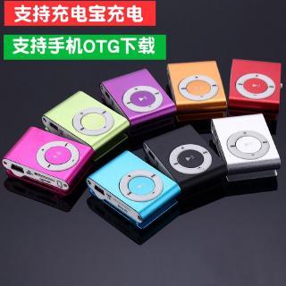 插卡讀卡器適用於MP3格式音樂隨身聽小巧迷妳跑步夾子MP3耳機專用音樂撥放器 學英語聽力運動播放器2G 4G 8G16G