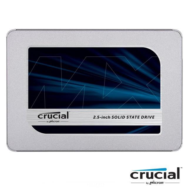 Micron 美光 MX500 500G 500GB 1TB SSD 2.5吋 固態硬碟 五年保 PS4可用