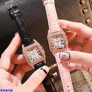 (滿200發貨哦)批發價最低$99!團購爆款娃娃機貨源Cartier同款時尚腕錶簡約H字面方形鑲鑽豪 呼呼雜貨鋪 雲林縣