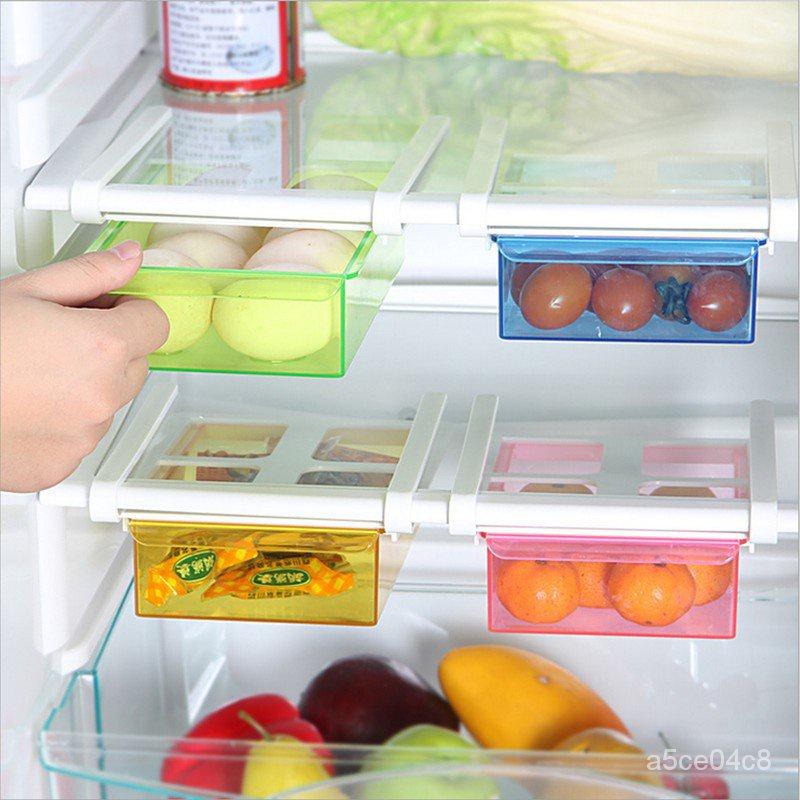 收納軍FUN先生的冰箱收納好幫手 創意抽動式置物盒 廚房用品 冰箱隔板抽屜收納盒