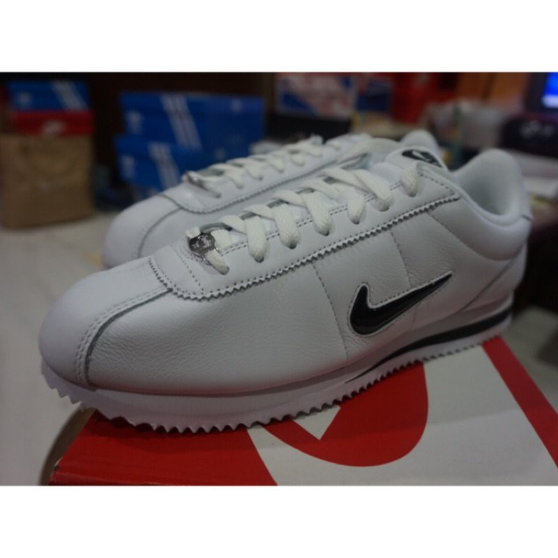 【美日正品】NIKE CORTEZ BASIC JEWEL QS 小黑勾