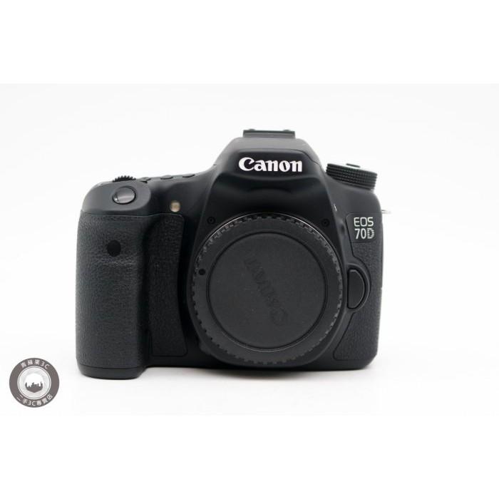 【高雄青蘋果3C】Canon EOS 70D 單機身 二手相機 單眼相機 公司貨 快門次數約2755 #30549
