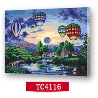 台灣現貨秒發可超商取貨無框DIY手繪數字油畫40x50CM - 放飛夢想 填色客廳裝飾畫創意禮物減壓 台中市