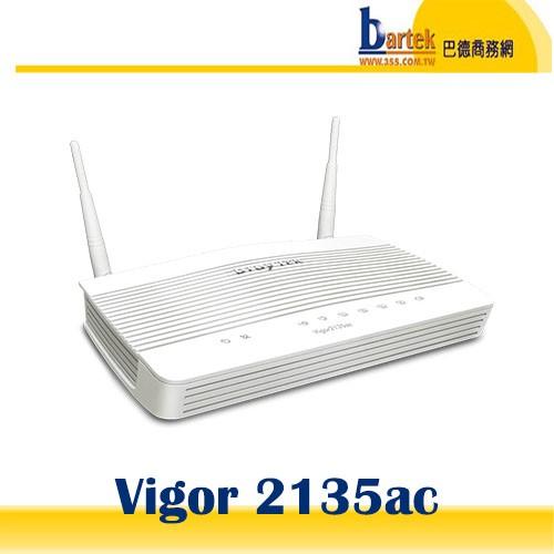 【巴德商務網】*含稅* Vigor 2135ac 單WAN VPN防火牆路由器