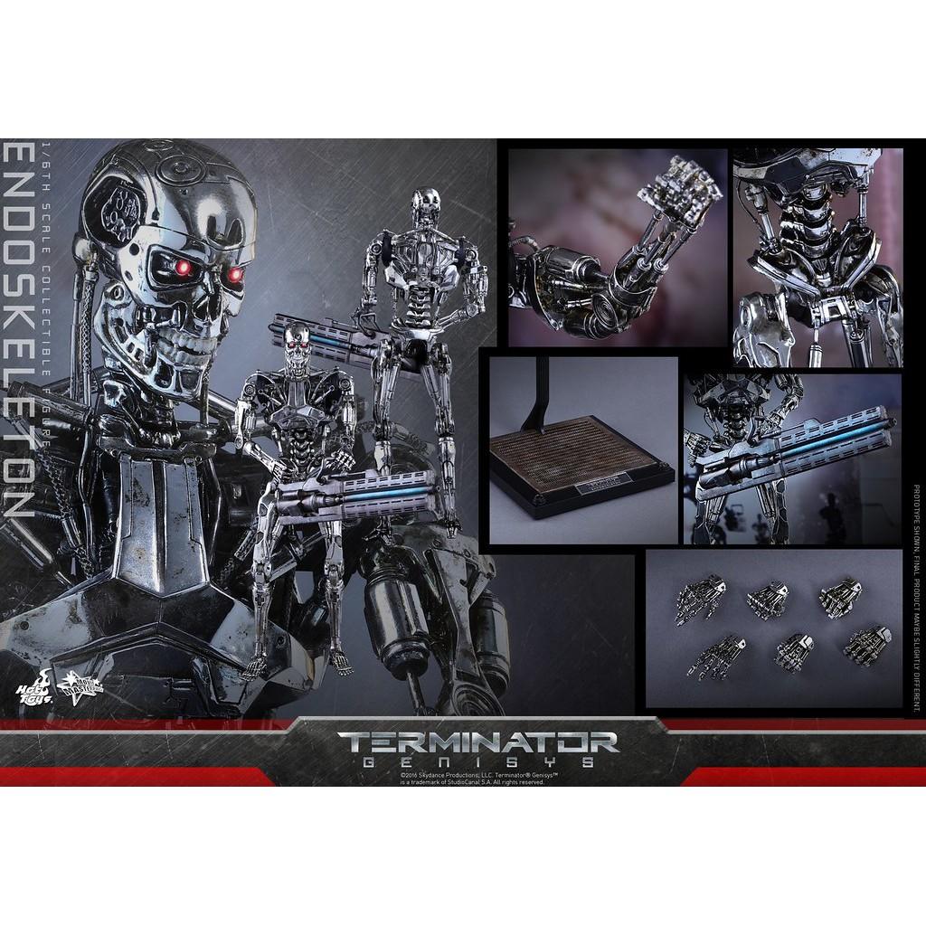 野獸國 Hot Toys – MMS352 –《 魔鬼終結者 創世契機 》 1/6比例 內骨骼 非 DX10 DX13