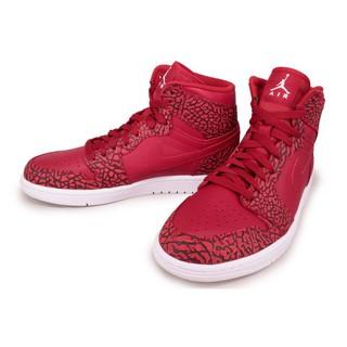 Nike Air Jordan 1 retro HIGH 839115-600 喬丹AJ-1 紅黑爆裂紋 鞋舌白跳跳人