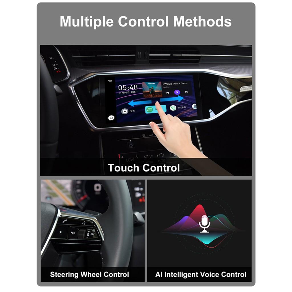 AI BOX 安卓盒子 原廠CarPlay 插孔轉安卓平台。USB隨插即用  免剪線 免拆車